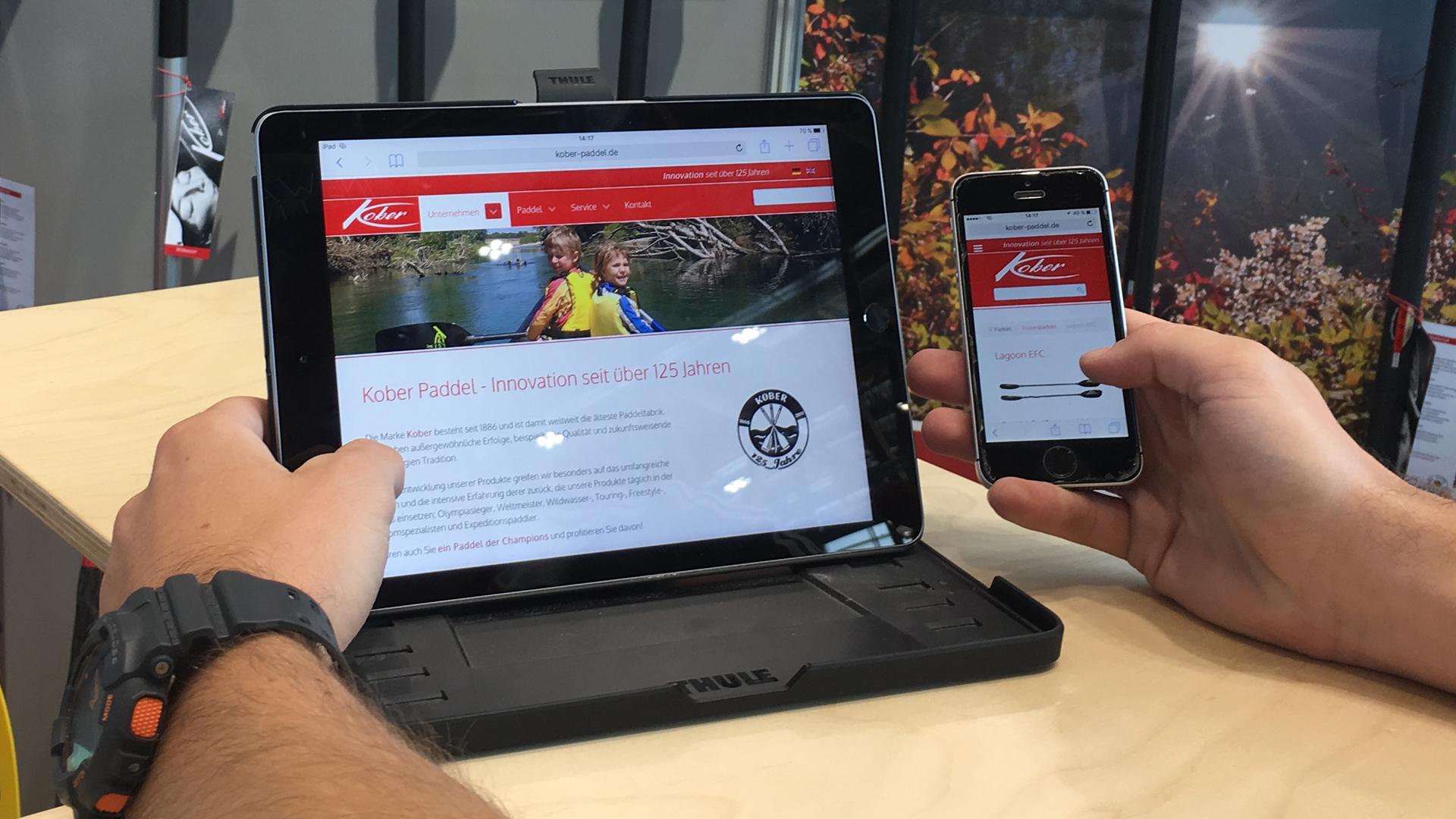 www.kober-paddel.de, www.moll-paddel.de