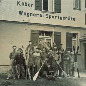 Kober Sportgeräte Belegschaft